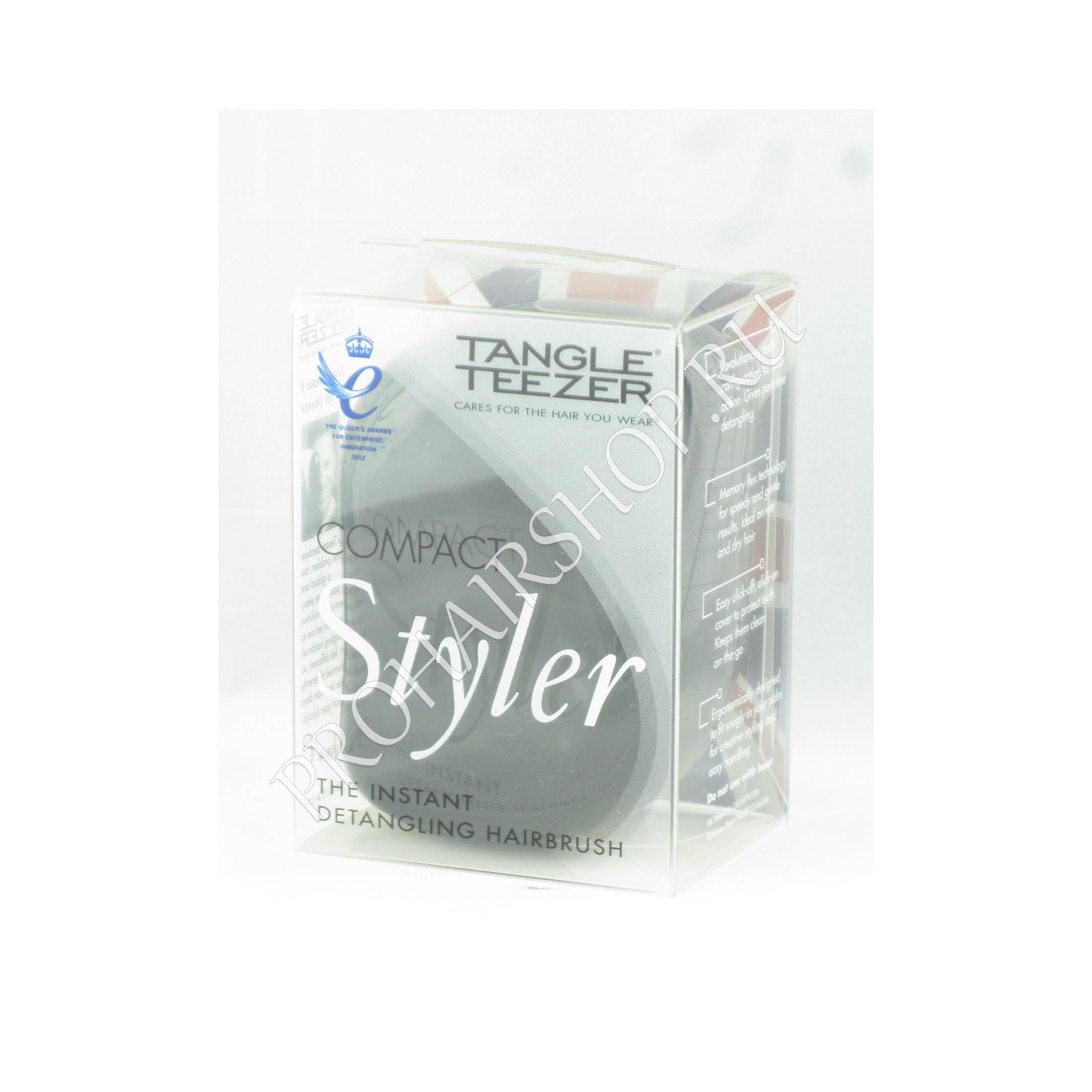 Tangle Teezer - COMPACT ROCK STAR BLACK (BLACK / Черная)