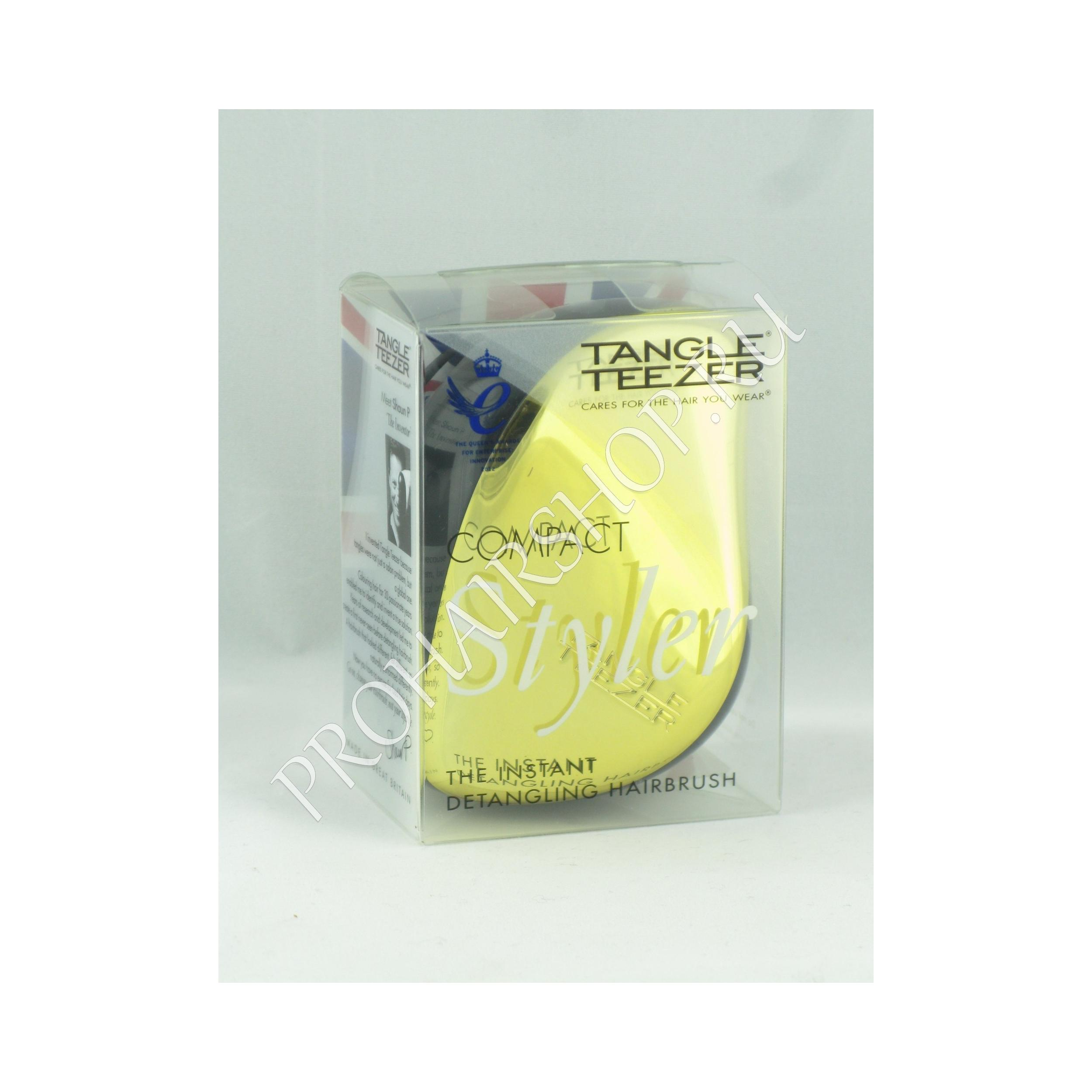 Tangle Teezer - COMPACT GOLD RUSH  (GOLD / Золотая)