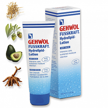Gehwol Fusskraft Hydrolipid-Lotion - Геволь Лосьон с церамидами