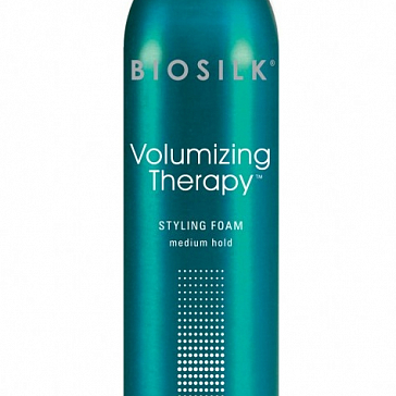 Biosilk Volumizing Therapy Styling Foam - Пена для создания объема средней фиксации